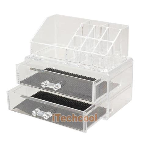 Makeup Cases With Drawers by Acrylic Cosmetic Organizer Drawer Makeup Storage