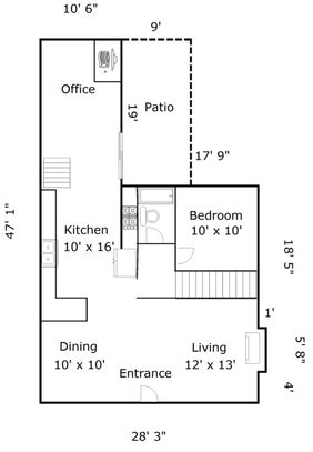 floor plan design with measurements home measuring services in the minneapolis st paul metro area appraisal