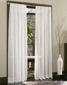 Sheer Panel Curtains Caress Voile Sheer Curtain Panel With Repreve 174 Curtainworks