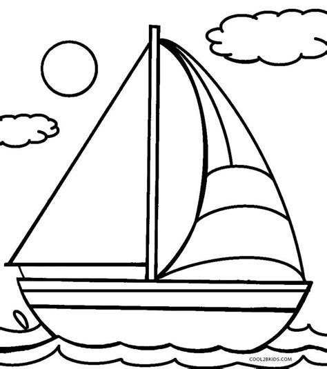 coloring page house boat printable boat coloring pages for kids cool2bkids