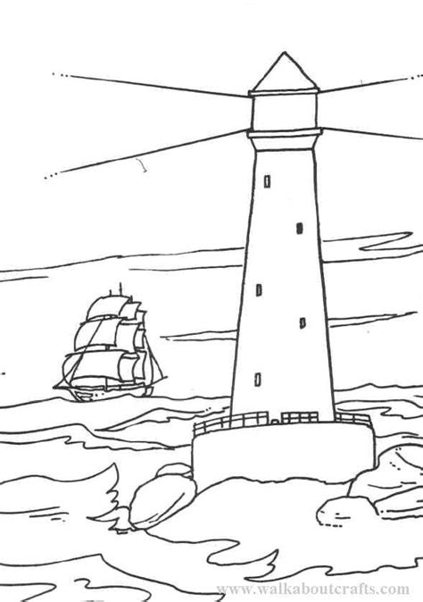 lighthouse coloring pages for adults coloring home