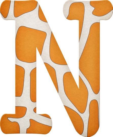 printable safari animal letters ch b alphabet giraffe print pinterest alphabet