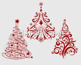 3 exquisite christmas tree photoshop psd brushes abr file