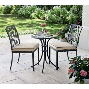 Homebase Bistro Table And Chairs Gardens Garden Furniture Sets And Garden Furniture On