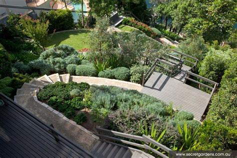 ideas for sloped lots design 55 best images about home hillside backyards on