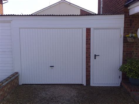 Murray S Garage by Novoferm Thornby With Matching Side Entrance Door Essex