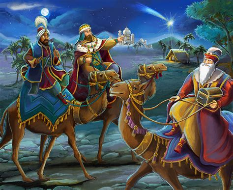fotos reyes magos en moto los tres reyes magos