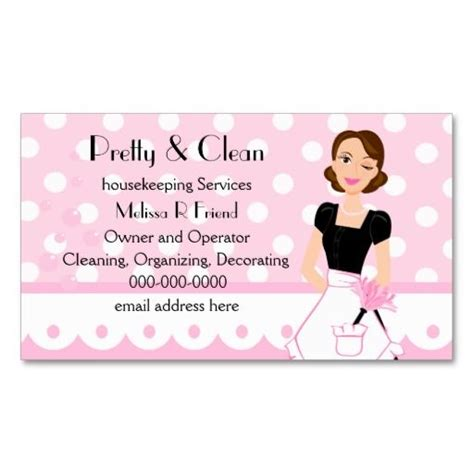 Cleaning Business Card Templates by Pretty And Clean Business Card Templates Cleaning
