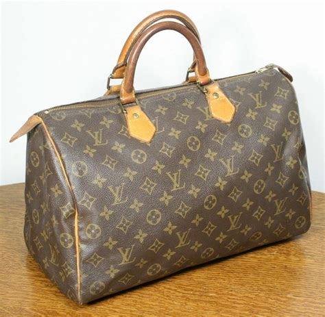 genuine vintage louis vuitton speedy  hand bag classic