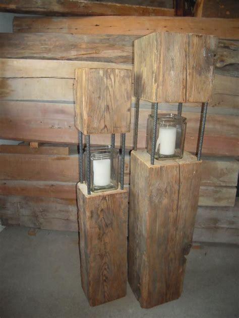 altholz ideen habe einige laternen aus altholz teils 252 ber 100 jahre