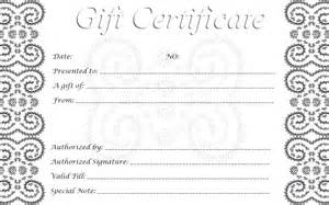 free printable gift certificates template 28 cool printable gift certificates baby