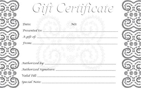 printable gift certificates this is another printable gift