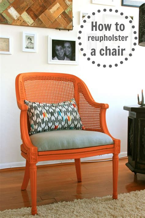 Diy Reupholster by How To Reupholster A Chair Infarrantly Creative