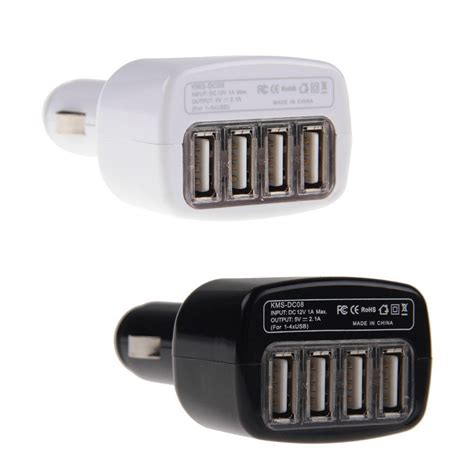 4 Port Usb Car Charger by New 4 Port Usb Car Charger Power Adapter For Iphone 5 6