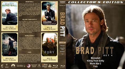 Brad Pitt And Collect Another One by Brad Pitt Collection Set 4 2011 R1 Custom