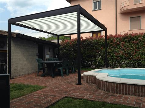 aluminium pergola with adjustable louvers azore 174 by frubau