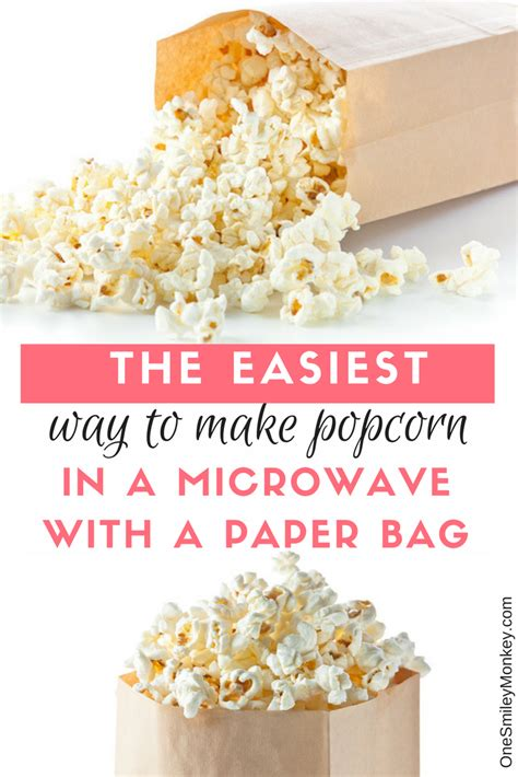 How To Make Microwave Popcorn In A Paper Bag - how to make popcorn in a brown paper bag in the microwave