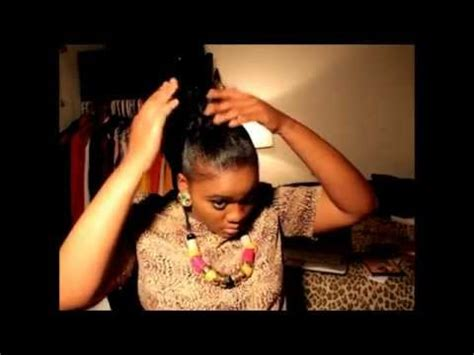 jumbo braid with bang prom hair tutorial keyshia ka ior inspired jumbo braid