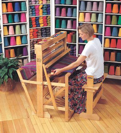 floor loom weaving harrisville looms pacific wool and fiber