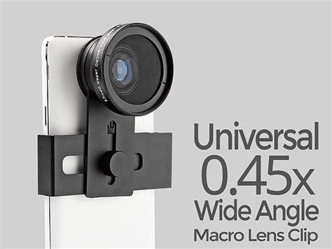 Universal Macro And Wide Angle Detachable Lens universal 0 45x wide angle macro lens clip