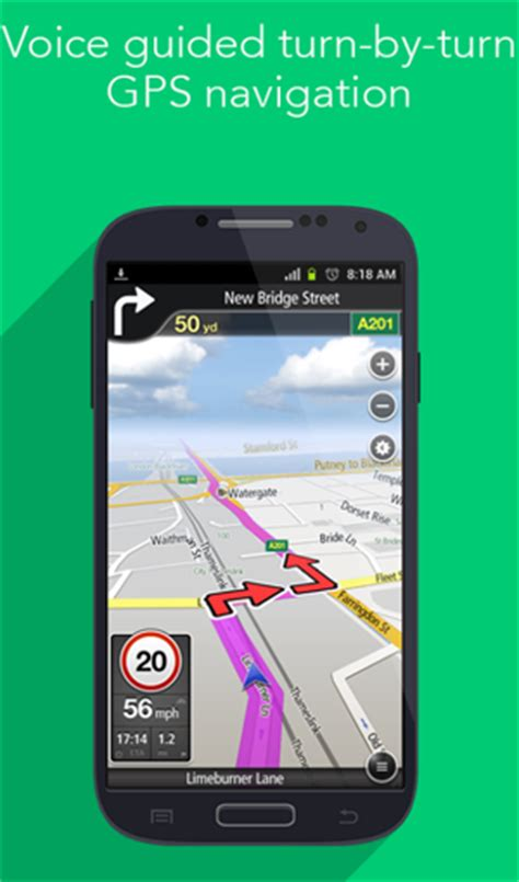how to use gps on android top 10 best reliable android gps navigation apps softstribe