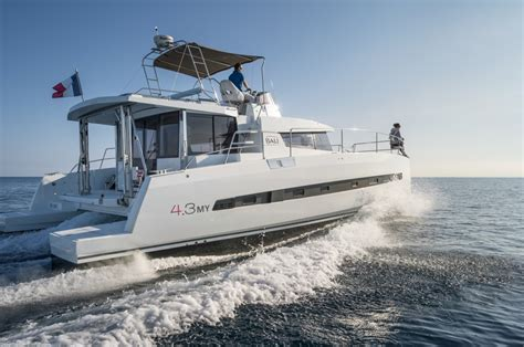 private catamaran bali bali 4 3 motor yacht now available from bali catamarans