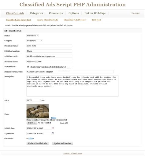 php classified ad scripts free commercial and open classified ads script php download
