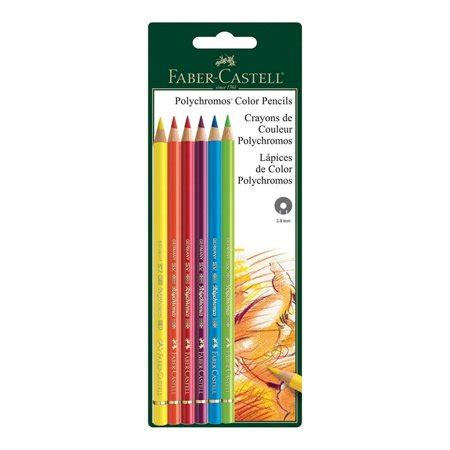 polychromos colored pencils polychromos 6 ct bc colored pencils walmart