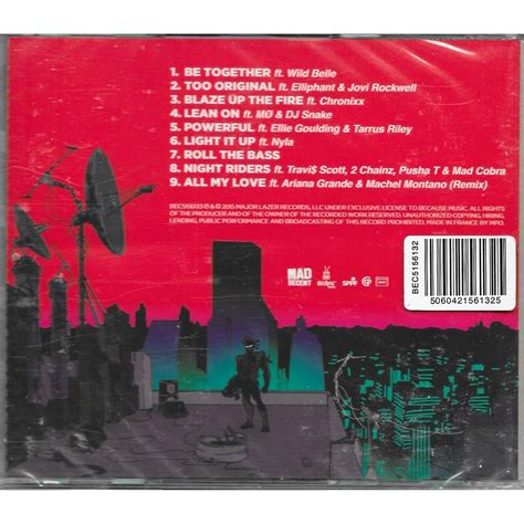 Kaos Major Lazer Peace peace is the mission by major lazer cd with louviers ref 117968345