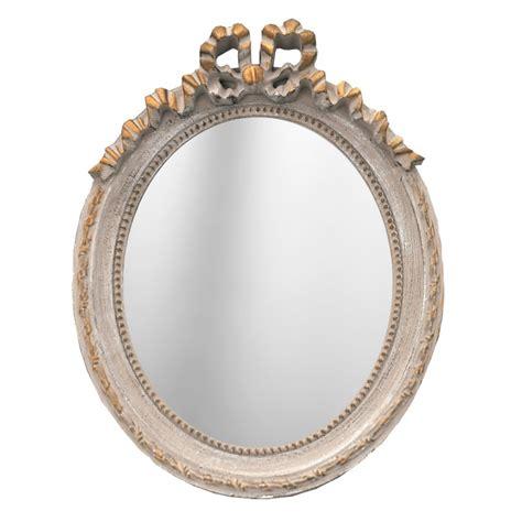 Miroir Baroque Gris by Miroir Ovale Vertical De Style Louis Xvi Patin 233 Gris Et Dor 233