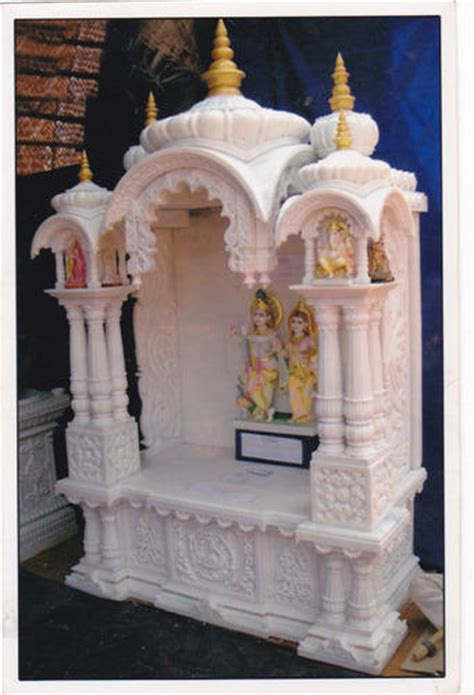 small marble temple for home small home temple at rs 250000 pie near modi masjid