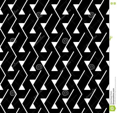 seamless pattern black white vector seamless background pattern white black triangle