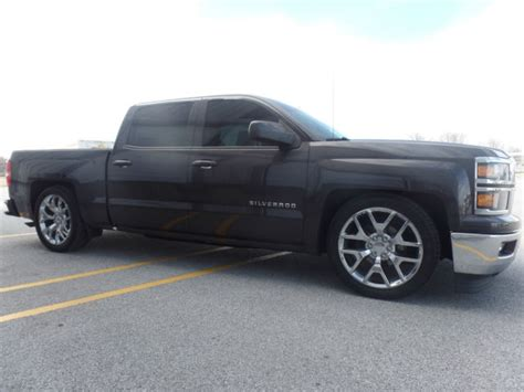 Wheels Chevy 1500 2014 chevy 1500 lowered on 22 inch wheels
