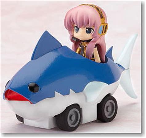 Nendoroid Luca Pvc Anime Figure nendoroid plus vocaloid pull back cars luka tuna car