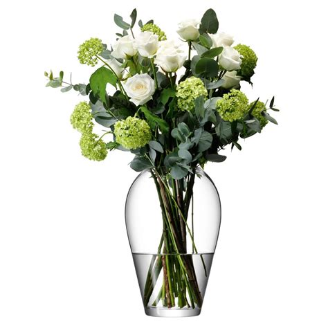 flower vases buy lsa international flower grand bouquet vase 35cm amara