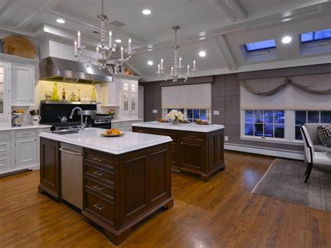 kitchen with 2 islands 64 deluxe custom kitchen island