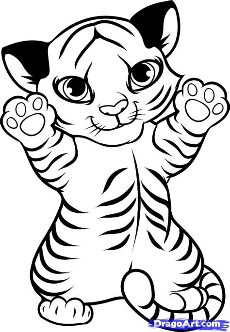 white tiger coloring pages az coloring pages