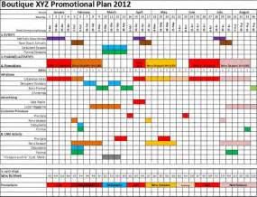 retailtoolbox how to develop a promotional calendar
