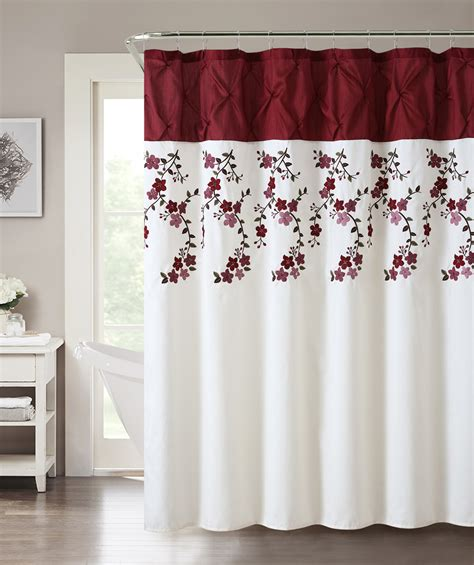 essential home curtains essential home lydia shower curtain