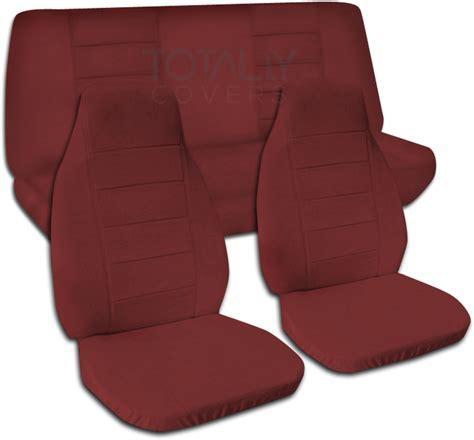 burgundy jeep 2017 jeep wrangler yj tj jk 1987 2017 solid color seat covers