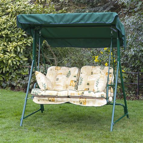 replacement garden swing cushions alfresia luxury garden swing seat cushions 2 seater ebay