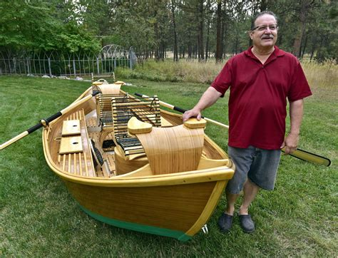 boat making from rod to ride woodworker turns fly fishing interest to