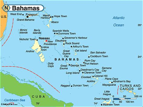 map of eastern us and bahamas population health