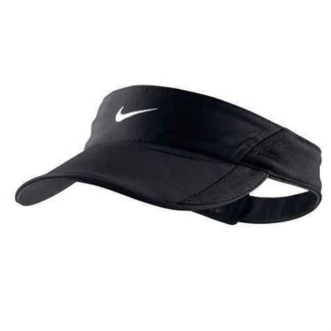 new black nike s tennis visor runner cap dri fit