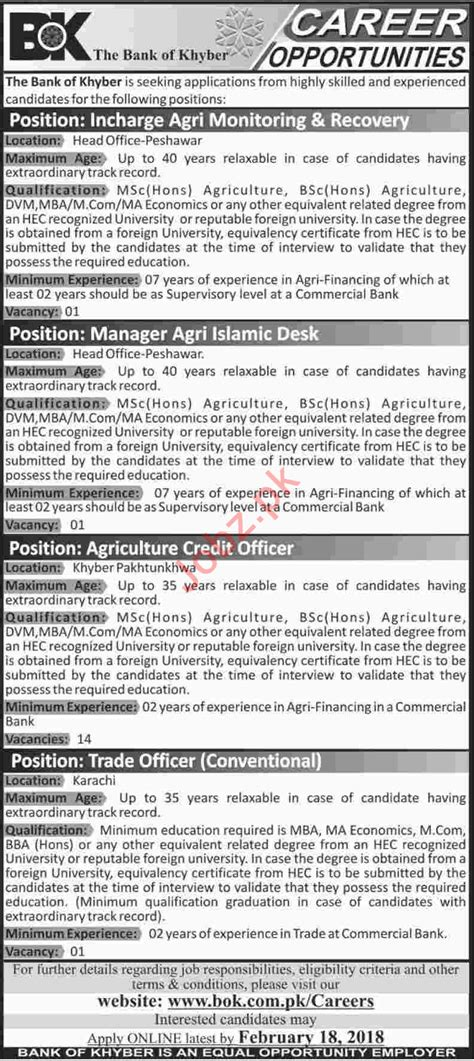 Mba Agribusiness In Banks by Bank Of Khyber Bok Incharge Agri Monitoring