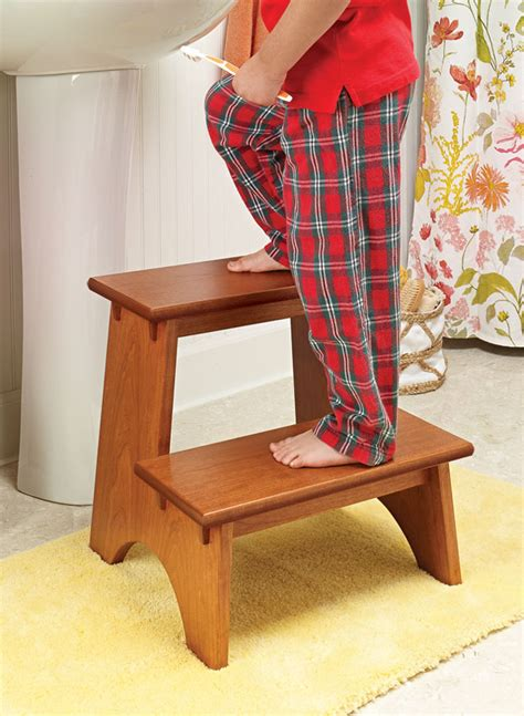 Cherry Step Stool Kitchen by Classic Cherry Step Stool
