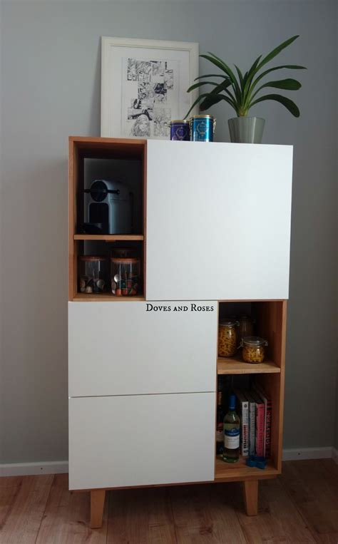 ikea hack danish inspired storage cabinet kuechenschrank