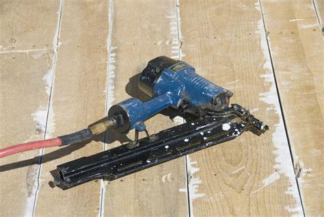Hardwood Floor Gun Can I Use A Nail Gun To Install A Hardwood Floor Ehow