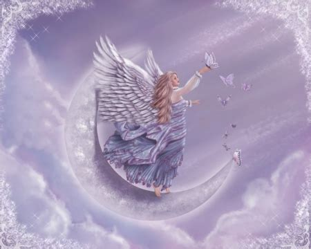butterfly angel fantasy abstract background wallpapers