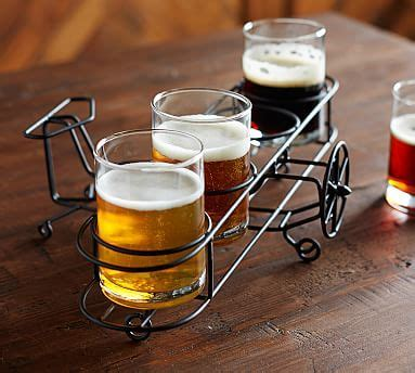 Wire Beer Flight   Pottery Barn